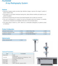 Radiology Equipments and Accessories Medical Mobile 100mA x-ray machine prices