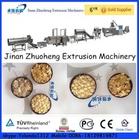 power saving automatic wheat flakes machine cereal corn flakes making machine