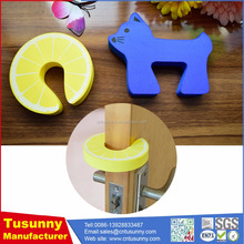 High quality cartoon bathroom door stopper guard for baby safety
