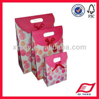 Customized different size paper candy bag