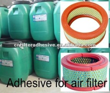 two component polyurethane adhesive for air filters