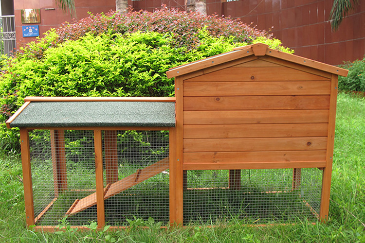 New design fashional fir wood super pet rabbit hutch