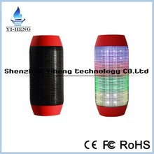 Pulse Wireless Bluetooth Speaker with LED Lights and NFC Compatible for iPhone 3/4/5/ iPad 2/3/4/Mini/Air, iPod,Samsung