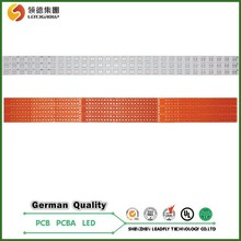 Aluminum pcb design materials,simple pcb circuit with OEM service