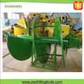 For bauer rig double start straight helix sand auger for drilling rig