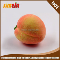 Simela High Quality Decorative Fake Fruit Fake Peach