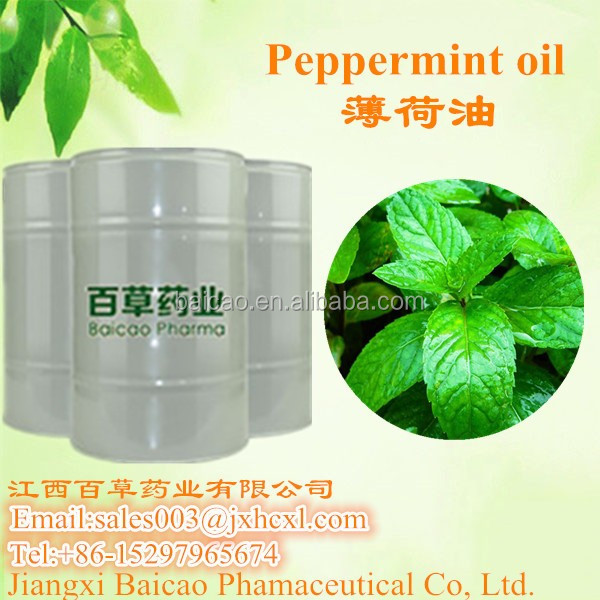 factory wholesale 100%pure natural peppermint oil