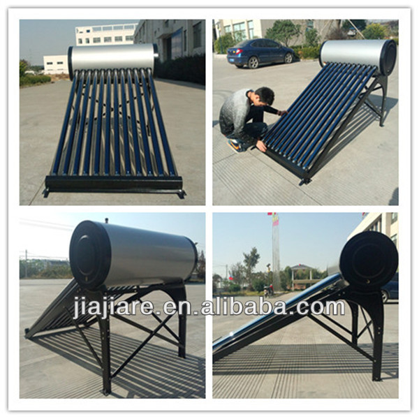 high quality unpressurized solar water heater system with low price