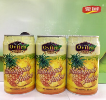 New product Healthy 30% pineapple juice in 325ml tin can