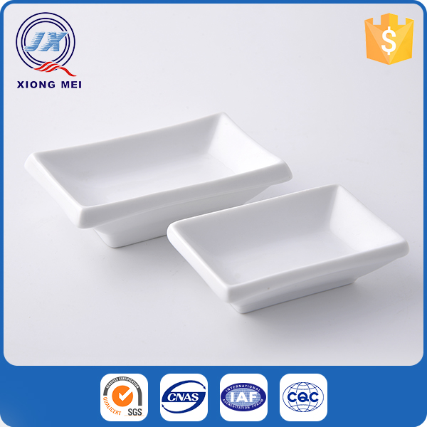 Houseware rectangle tableware porcelain dishes plates