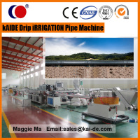 180m/min drip irrigation tape making machine/irrigation tape extrusion machine Low Price