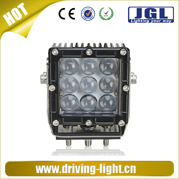 led work lamp 12v 24v 45w CREE led work ligh lamp for heavy duty,auto parts,cars 4x4 led work light with 4d reflector