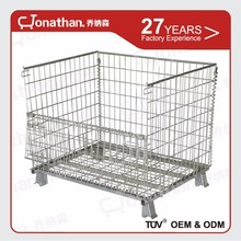 Warehouse electronic galvanized mink wire mesh cage