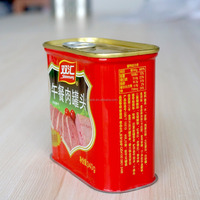 340g Food Safe Luncheon Meat Tin Rectangular Can