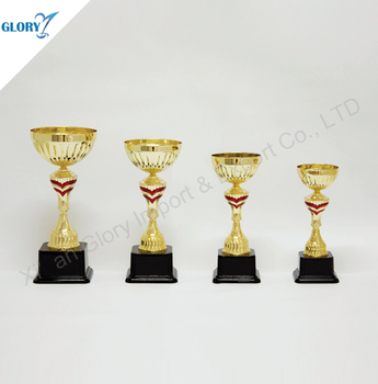 Wholesale Plastic Award Metal Trophy Cup