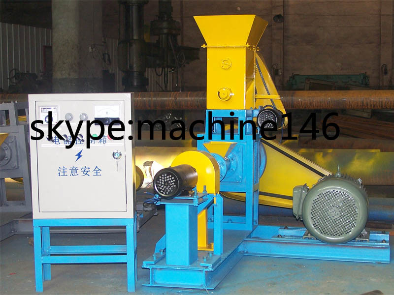 floating fish pellet machine /fish pellet extruder machine