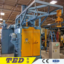 qingdao hook type hanger shot blasting machine