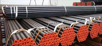 MS SEAMLESS BLACK STEEL PIPE