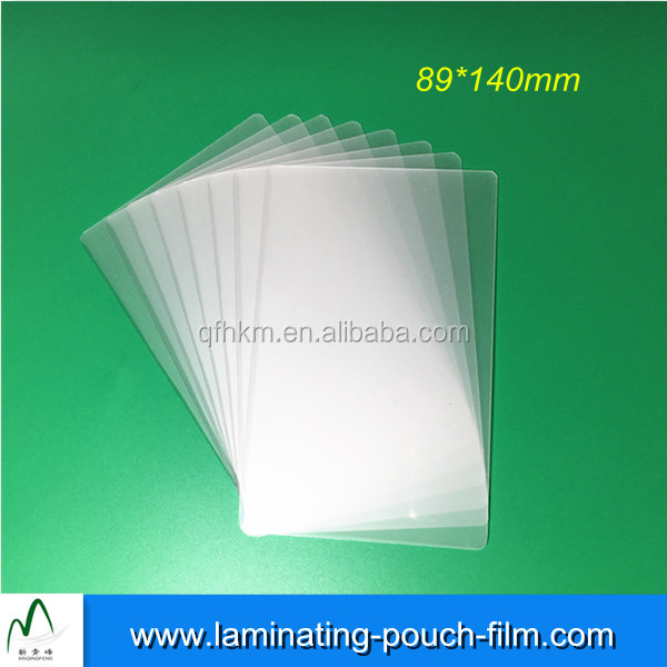 Heating Film High Tranparency Laminating Pouches Films Laminated Sheets