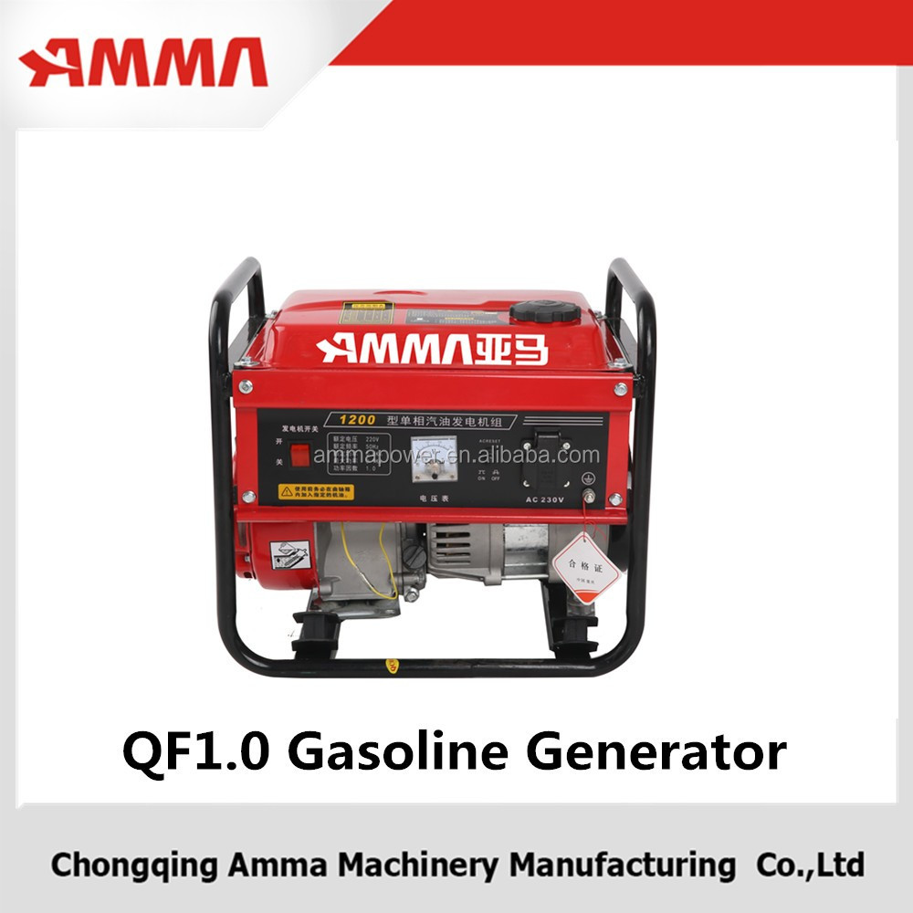2016 AMMA 1000W Gasoline generator QF 1.0 For Home Use Gasoline Generator for Power Appliance