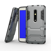 For Motorola X Play Case Shockproof Dual Layer TPU Hybrid Rugged Armor PC Slim Skin Hard Back Mobile Phone cases Tough Cover