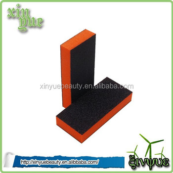 Korean material 2 in 1 nail file nail buffer sanding block high quality nail buffing block