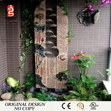 China Mandarin Duck Big Artificial Rock Basin Garden Water Fountain