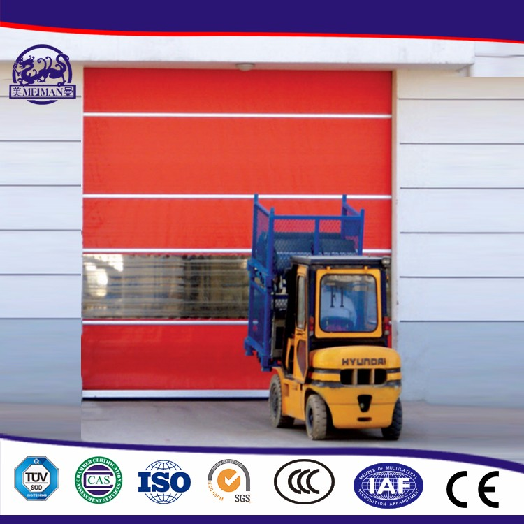 Wholesale High Quality High Reliability Pvc Rapid Rolling Door Use For Workshop