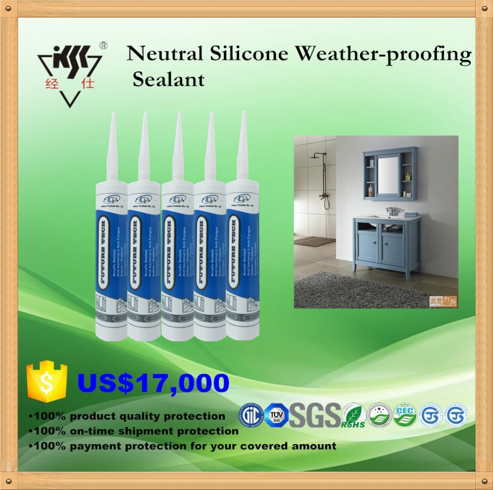 2015 Advanced Neutral Weather-proof Glass Silicone Sealant