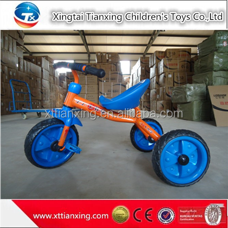 2015 Google China wholesale cheap plastic 3 wheels kids drawing tricycle