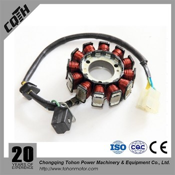 MOTORCYCLE MAGNETO STATOR FOR YBR125 2000-2001