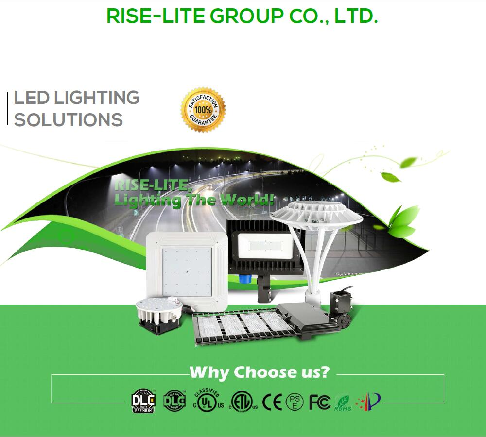 50w 75w 100 Watt IP65 China Factory roadway UL ETL DLC decorative LED Post Top Light fixture