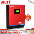 < MUST Brand> 5000 watt inverter with built in charger solar invertor 5kva solar invertor