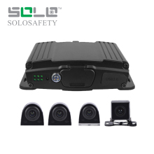 Best Double SD card vehicle mdvr h.264 mobile dvr 4ch