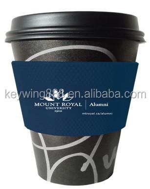 Brand Promo Coffee Mug Silicone Cup Sleeve Buy Cup