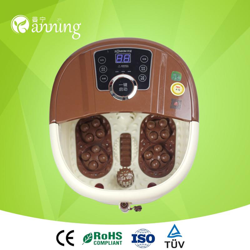 Great gifts portable steam bath for promtion,dual system detox foot bath,foot pedicure spa