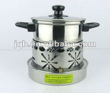 Newest Stainless Steel Hot Pot/Mini Chafing Dish with fuel