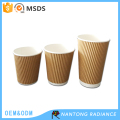 Economic and Reliable hot drinking corrugated cup from China famous supplier