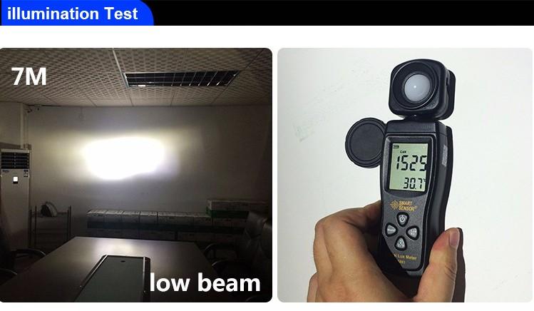 2017 Super Bright 4300 K 6000 K L7 xhp70 H18 H7 levou lâmpada do farol H11 H4 H13 9012 9005 (BH3) 9006 (HB4) D1s d2s d3s d4s