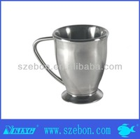 High quality stainless steel coffee mugs with handle