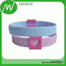 Milk Bands Silicone Baby Breastfeeding Bracelets