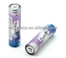 TrustFire 2012 new style 2000mah with pcb 18650 battery trustfire from shenzhen