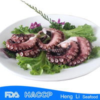 frozen boiled octopus slice