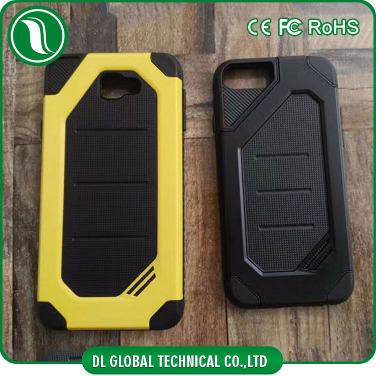 Superior new design rugged full cover compatible armor phone case for iphone 6 and 7