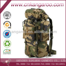 Large space outdoor waterproof military tactical oxford travelling bag