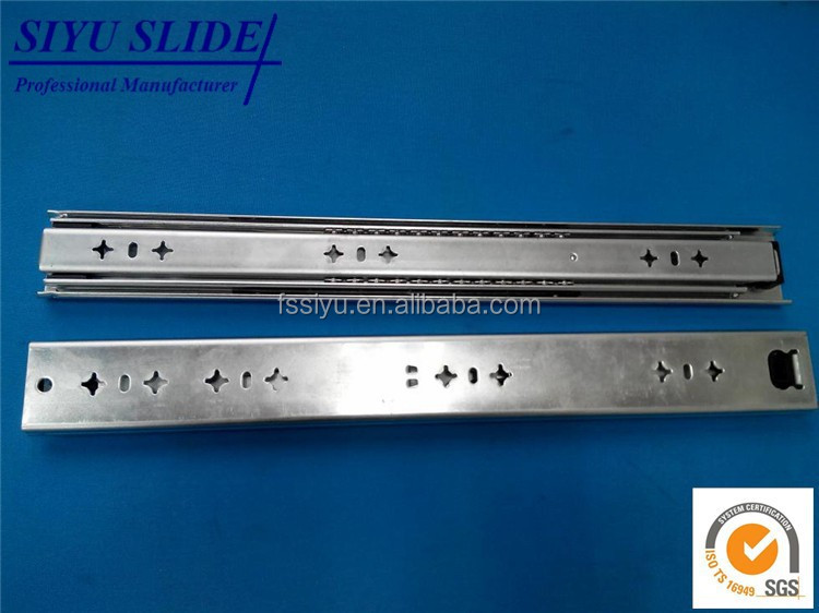 53mm 3 fold Ball Bearing Full Extension Drawer Slide