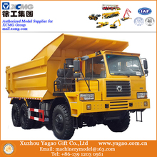 1:24 New Launch, Diecast Construction Scale Model, XCMG Off-Road Heavy-Duty Dump Truck Model
