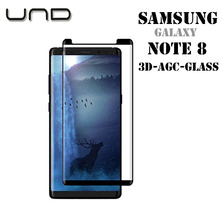 0.33mm Thickness 9H 3D Premium Tempered Glass Screen Protector for Samsung Galaxy Note 8