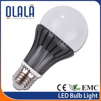 A60 E27 led bulbs , 230 beam angle aluminum bulb motorcycle light bulbs