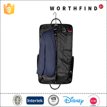 Black durable travel cloth suit garment bag
